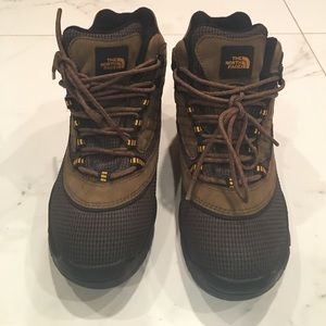 The North Face Brown leather Unisex Hiking Boot